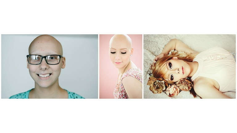 Cancer Patient Gifted Session Beauty Fairbanks, AK Portrait Photographer
