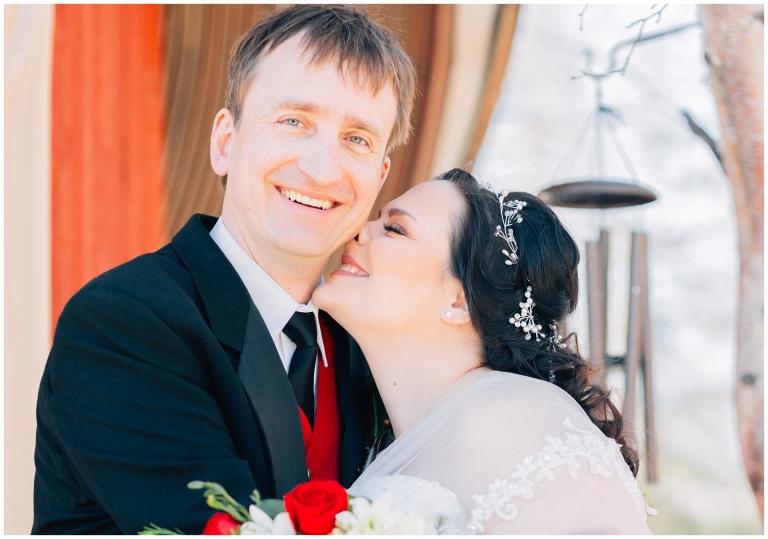 An intimate spring wedding at Birch Leaf Chapel, Ester AK Bryanna Hunt Photography Fairbanks Photographer