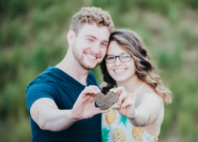 The Cutest Engagement Session EVER at Chena Lakes Recreational Park with Bryanna Hunt Photography
