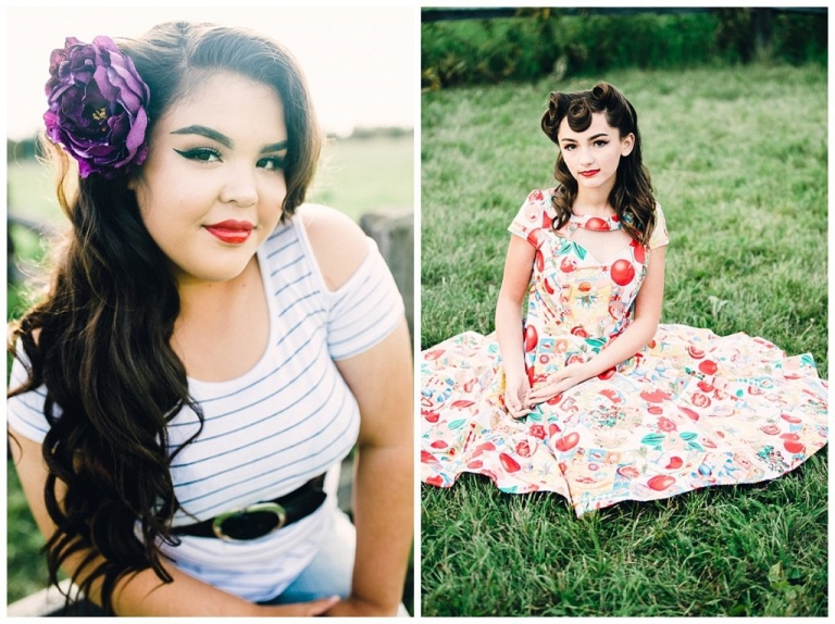 Second Annual Rockabilly Portraits in at Creamer's Field in Fairbanks with Bryanna Hunt Photography